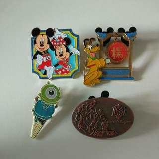 換/賣 迪士尼徽章 襟章 pin