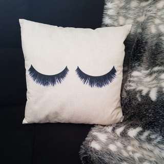 """Decor Cushions """"Lashes For Days"""" Collection"""