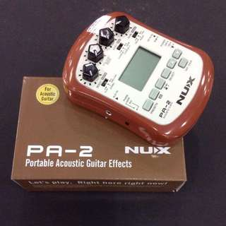 NUX Portable Acoustic Guitar Effect