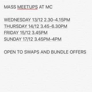 MASS MEETUPS