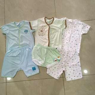 Baby short sleeve shirt & pants