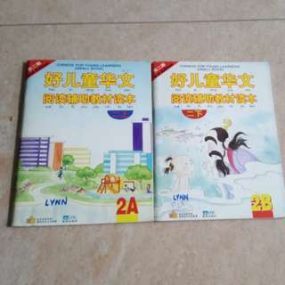 Chinese book 2A & 2B