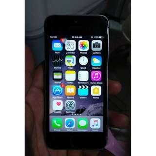 Apple Iphone 5s 64gb Space Gray (Factory Unlocked)