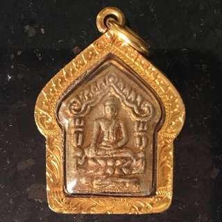 LP Sakorn KP Prai Kuman 2530 First Batch Pim Lek Silver Takrut