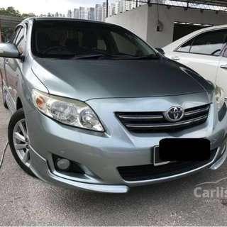 Car rental @ $360 per week - Toyota Altis