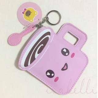 Cute coin purse Keyring