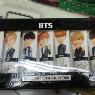Bts hand cream collection