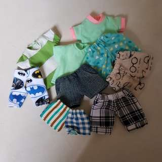 Clearance ~ bjd 1/6 doll clothes