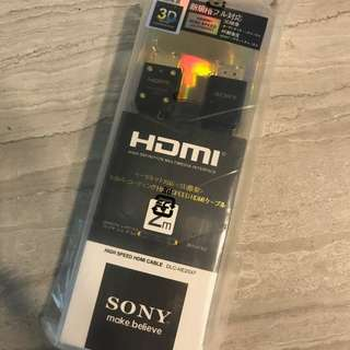 Sony HDMI Cable DLC-HE20XF