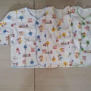 Baju Lengan Panjang bayi NB Newborn Libby