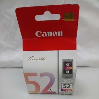 Canon CL-52 墨水 原裝 適用型號: Canon iP6210D