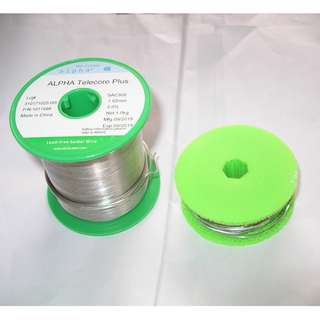 Alpha 含銀 錫線 1.02mm直徑 2%銀無鉛 30呎一卷 包郵費