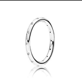 Pandora sparkling Droplets ring