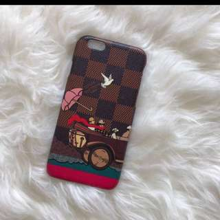 lv damier case iphone 6 6s