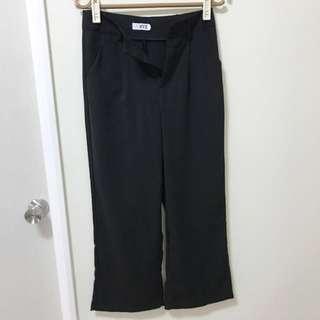 黑色 寬褲 西裝褲 m號