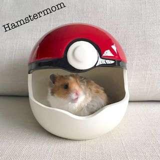 Hamster Pokemon Ball Ceramic Hideout Toy House