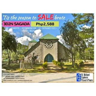 Sagada 3D2N Tour Package