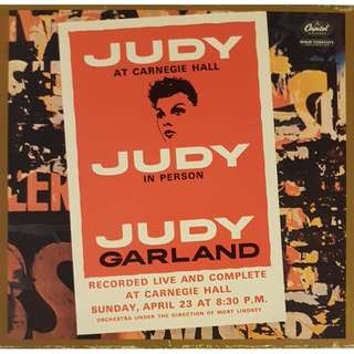 Judy Garland - at Carnegie Hall DCC 24 Karat Gold Audiophile 2 CD Set