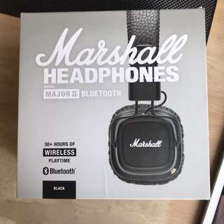 bluetooth marshall major II