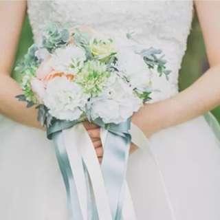 Bridal Wedding Artificial Flowers Bouquet
