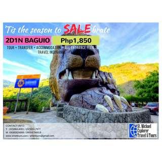 Baguio 2D1N Tour Package
