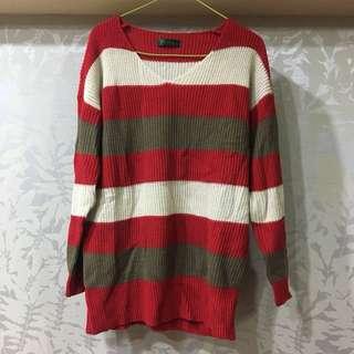 聖誕配色針織毛衣