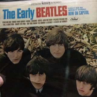 The Beatles LP- the early beatles