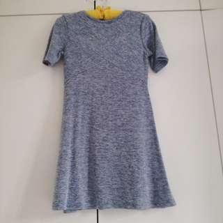 [BN] Kitschen Grayish Blue Dress
