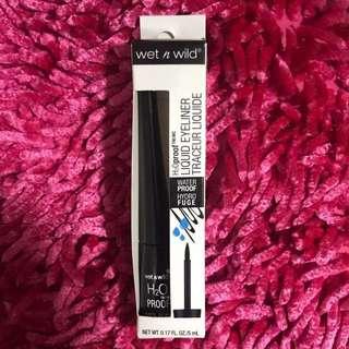 Wet n wild black water proof eyeliner