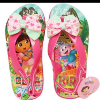 Dora & Friends Flip Flop / Slipper With Heel Strap