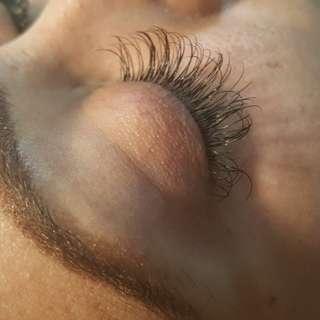 Classic eyelash extensions!
