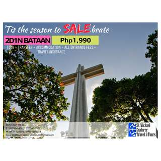 Bataan 2D1N Tour Package