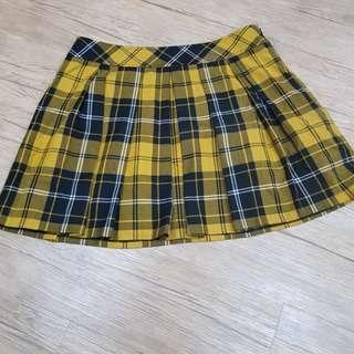 MA·STU Mi格紋裙(L)