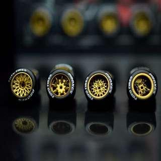 kreauto atara wheels 4set ( hotwheels , tomica )