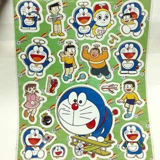 🍃🌻 Doraemon Laser Stickers 🌻🍃