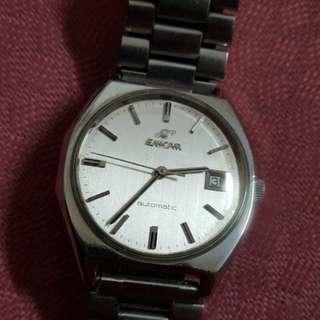 古董英纳格男自动錶(正常)