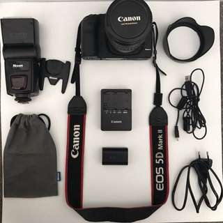 CANON 5D MARK II FULL FRAME CAMERA