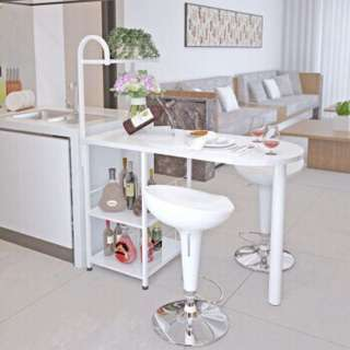 Bar table wine cabinet modern
