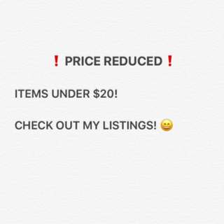 PRICE REDUCED ‼️