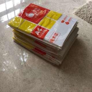 Sticker Paper 10 units x 20 pieces