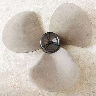 "Fan Blade 16"" 3 Leaves Table Stand Hang Fan Replacement"