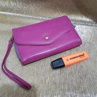 Crown wallet cellphone wallet