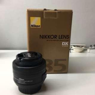 Nikon 35mm f1.8G DX