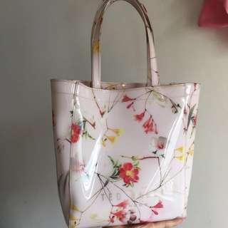 Ted baker pink floral bag