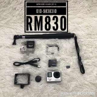 GoPro Hero 4 Black (Set A)