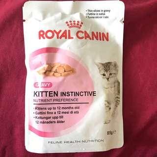 Royal Canin kitten instinctive gravy