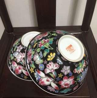 2 pcs porcelain bowls