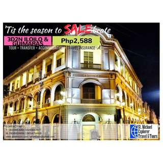IloIlo & Guimaras 3D2N Tour Package