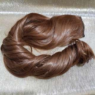 Hair extension clip