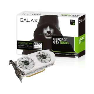 Galax 1050ti 4gb Graphics Card Exoc White
